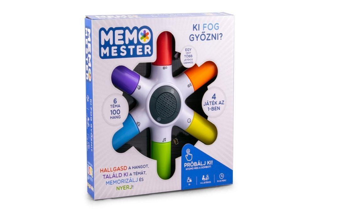 Új memóriafejlesztő társasjáték a Memo Mester személyében