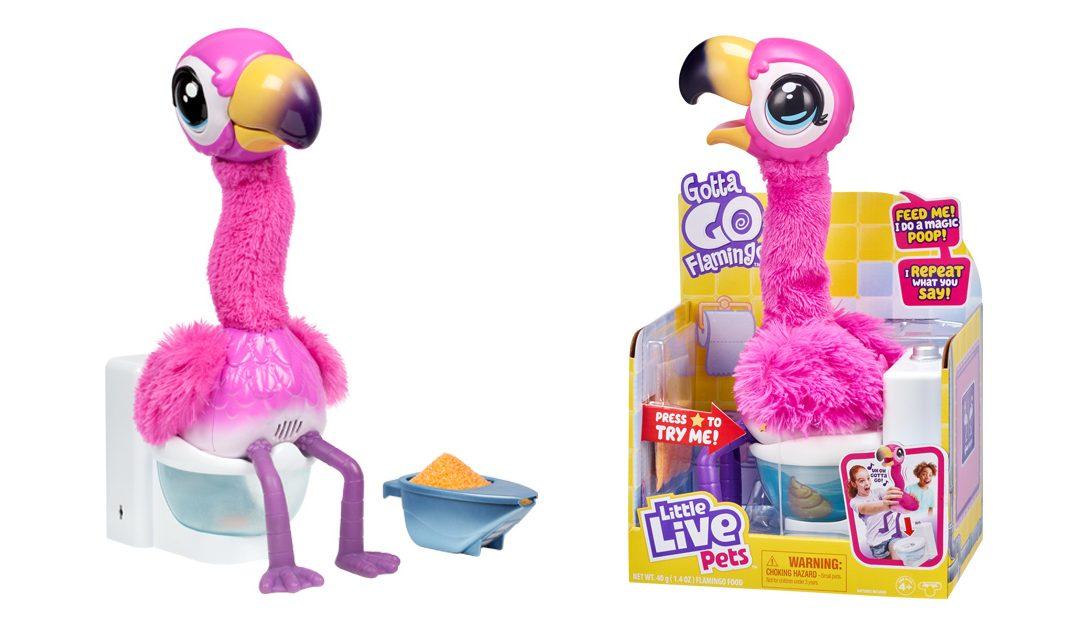 Rendhagyó időkben rendhagyó játékok – Potyi, a flamingó
